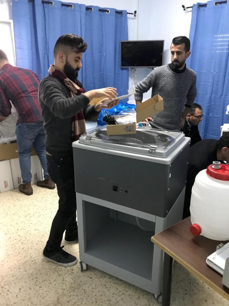 Endoscopy Unit: Recently Complete Installation Endoscopy Unit At Shepherds